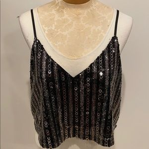 Forever21 Sequin top